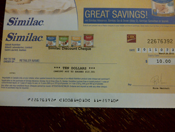 Alimentum coupons canada