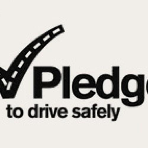 Free Drive Safely Bumper Sticker