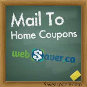 Household coupons by mail