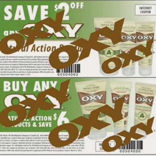 Oxy Printable Coupons