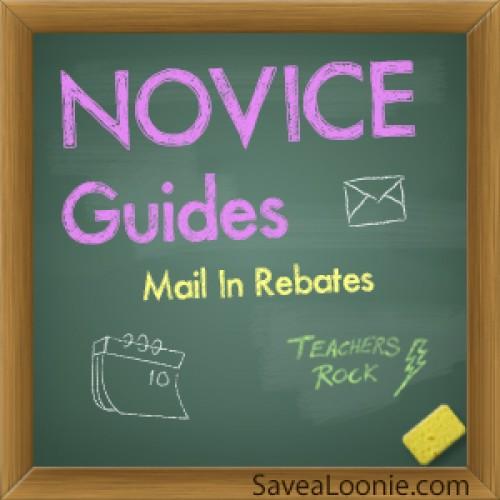 Novice Guide: Mail In Rebates