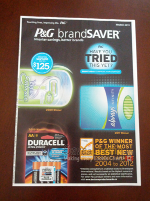 Brandsaver coupons tide