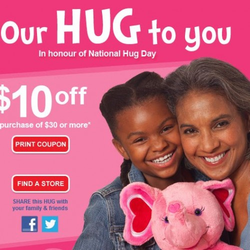 Build A Bear – $10 Off WUS $30