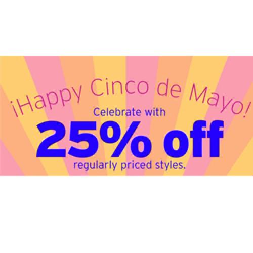 GAP – 25% Off Cinco de Mayo Celebration