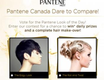 Pantene Dare to Compare Contest
