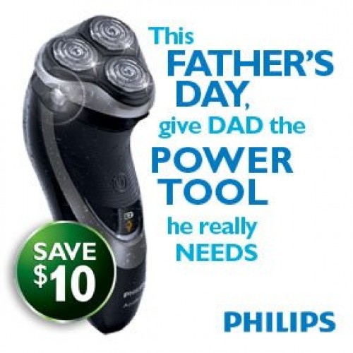 Smartsource.ca – $10.00 Philips Electric Shaver Printable Coupon