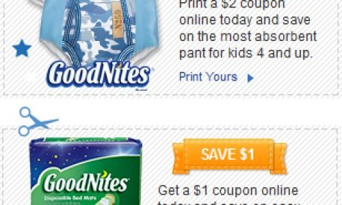 GoodNites – Pants & Bed Mats
