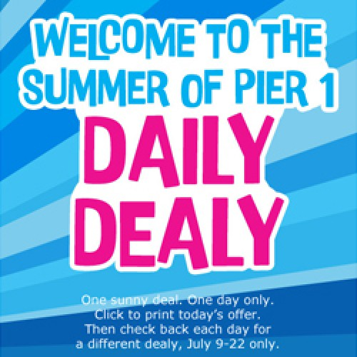 Pier 1 Daily Dealy – Wall Hangings