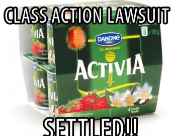 Danone Activia Class Action Lawsuit