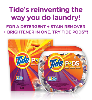 tide pods free samples over deals from savealoonie