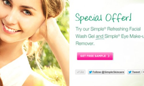 Simple Skin Care FREE SAMPLE!!! *OVER*