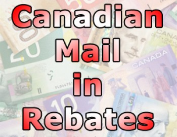 Canadian Mail In Rebate Offers