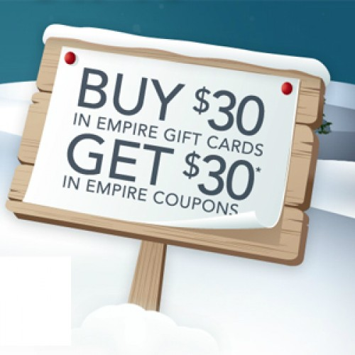 Empire Theatres – Buy Gift Cards, Get Coupons