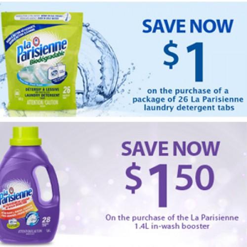 La Parisienne – Detergent & In-Wash Booster