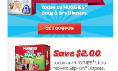 Huggies For The Holidays – $1.50 Off Snug & Dry Diapers