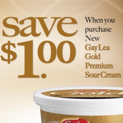 Save.ca – $1.00 Gay Lea Gold Coupon