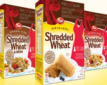 FREE Red Scarf from Shredded Wheat + Contest