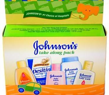 Johnson & Johnson Free New Parents Pack