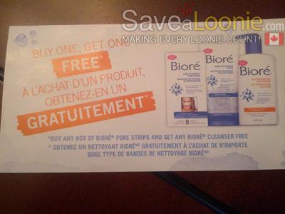 Biore coupons