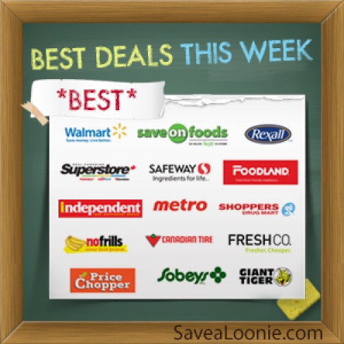Loonie or Less Deals – January 10th – 16th 2014