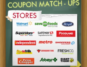 Coupon Price Match-Ups – August 16th – August 22nd, 2013
