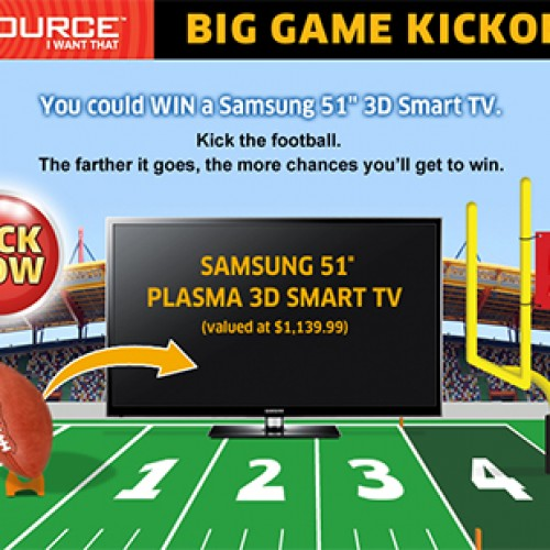 The Source: Big Game Kickoff Contest