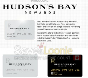 HBC Rewards Now Hudson Bay Rewards