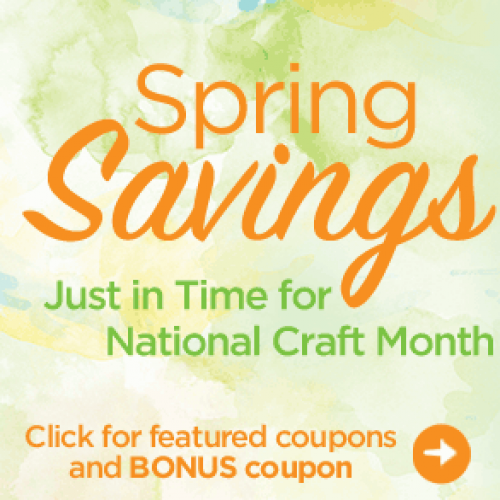 Michaels – Weekly Coupons Ending March 15th