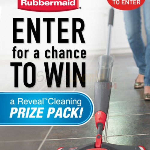 Rubbermaid Reveal Cleaning Contest