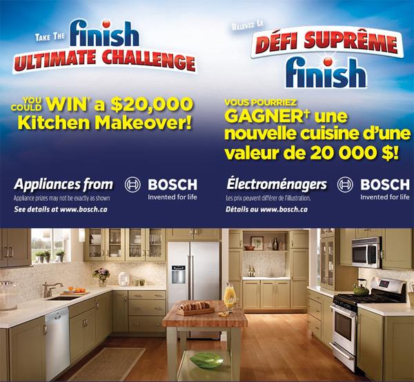 Win A Kitchen Makeover: Finish Kitchen Makeover Contest