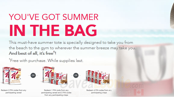 Special K Free Summer Tote