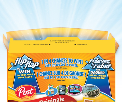 Post Flip the Flap to Win Giveaway