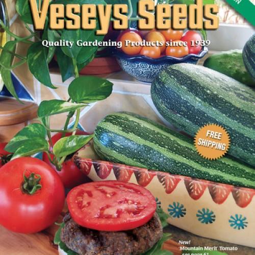 Veseys Free Catalogue Subscription