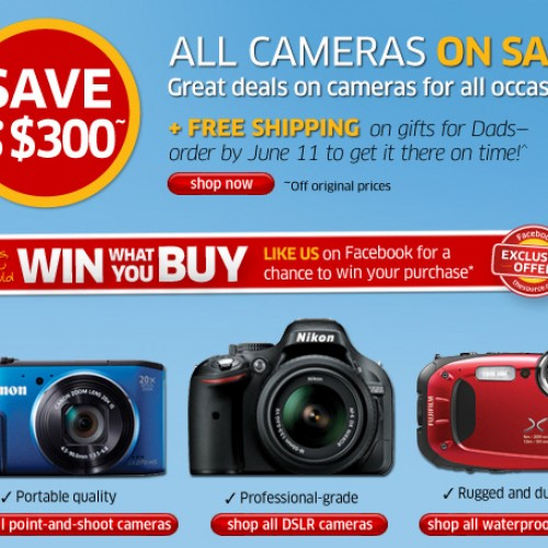 The Source – Digital Camera Sale