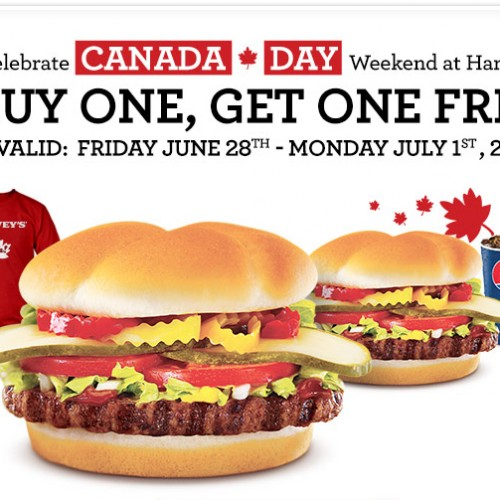 Harvey's – Canada Day Coupon