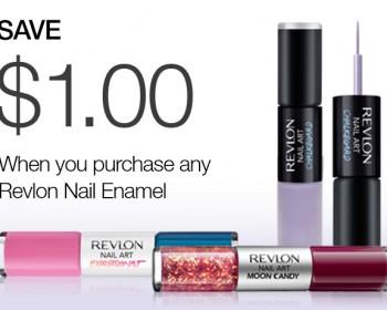 Revlon Nail Enamel Print Coupon