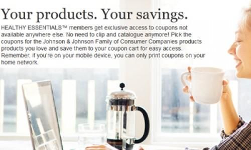 Healthy Essentials – Print Coupon Portal