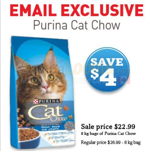 Pet Valu – Purina Cat Chow