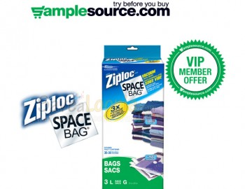 Check Your Emails – SampleSource Ziploc VIP Offer