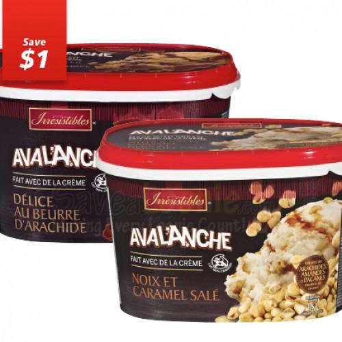 Metro mon Epicier – Irresistible Avalanche Ice Cream