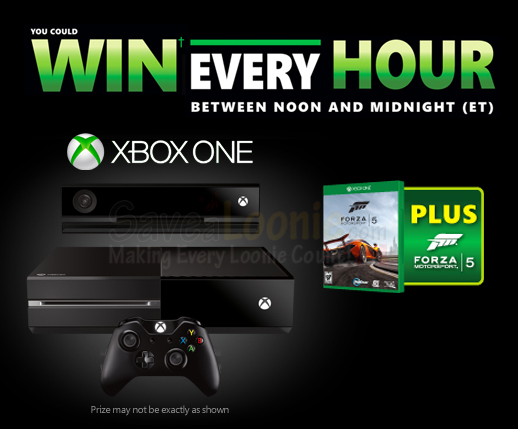 XBOX One Win Every Hour Contest