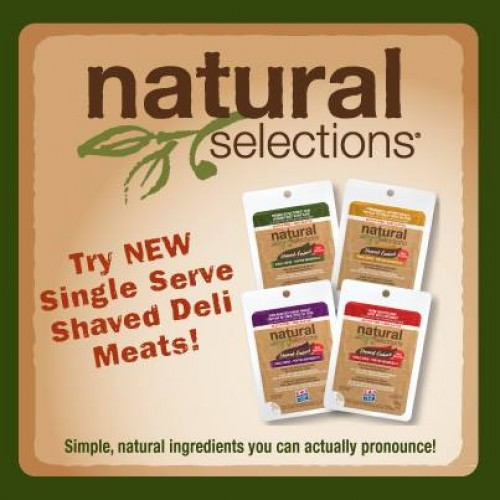 Natural Selections Single Serve Deli Meats Coupon Coming