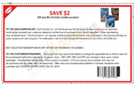 Christie Cookie best coupon codes & promo codes