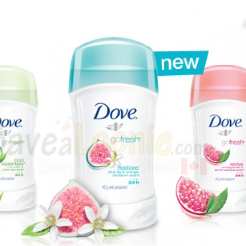 Dove Deodorant Sample + Coupon *OVER*