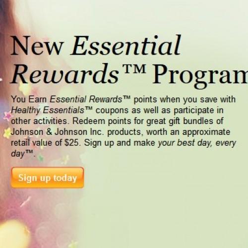 Healthy Essentials My Essential Rewards Program
