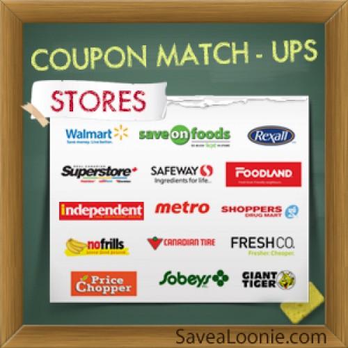 Coupon Price Match-Ups – Feb 21st – 27th 2014