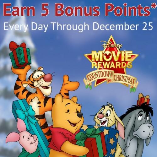 Disney Movie Rewards – Countdown to Christmas