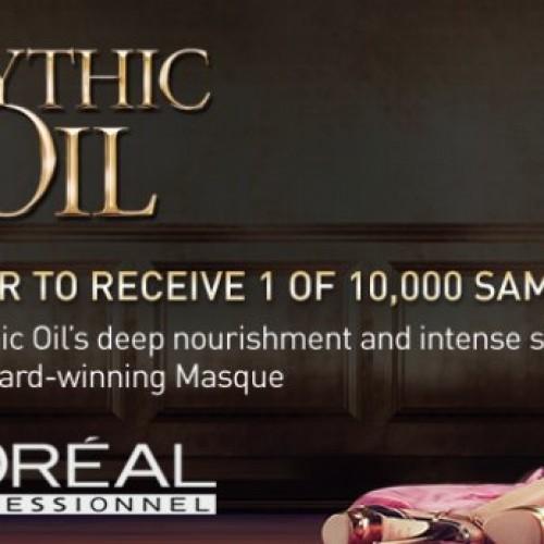 L'Oreal Mythic Oil Samples