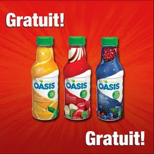 Couche-Tard – Free Oasis Juice