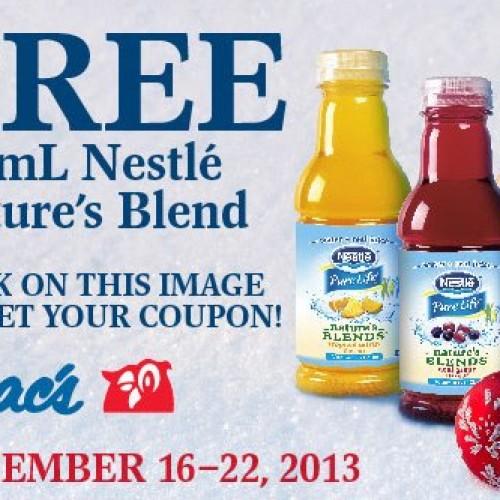 Mac's – Free Nestle Nature's Blend